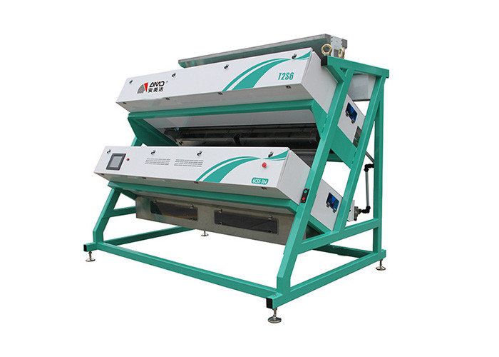 Shrimp Belt Tea Sorting Machine , High Definition CCD Green Tea Color Sorter