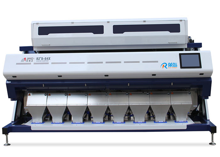 RZ+8 Model Rice CCD Color Sorter Machine Image Processing System With IR Filter