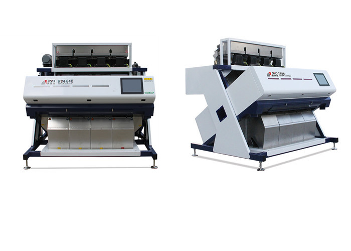 Automated Coffee Color Sorter Machine , OEM Color Sorter Grain Cleaner