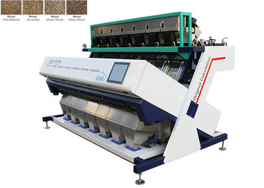Çin Intelligent Algorithm Wheat Color Sorter , LED Optical Design System Unique Color Sorter Fabrika