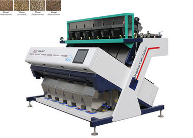 Çin 1220KG sorter Machine For Wheat , High Frequency Ejectors Amd Color Sorter Fabrika