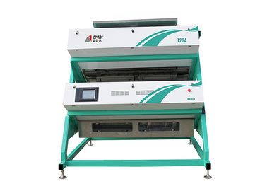 Çin T2S4 Tea Color Sorter Machine 600 KG/H V Type Sorting Combination Process Fabrika
